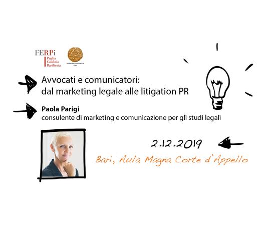 Paola Parigi convegno FERPI Bari