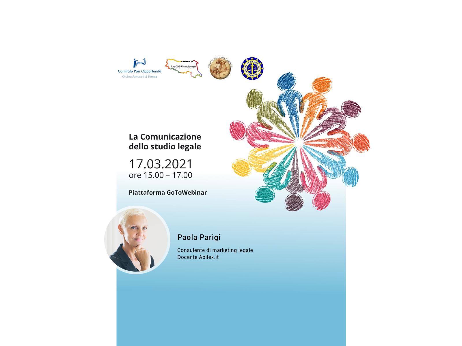 webinar comunicazione studio legale paola parigi